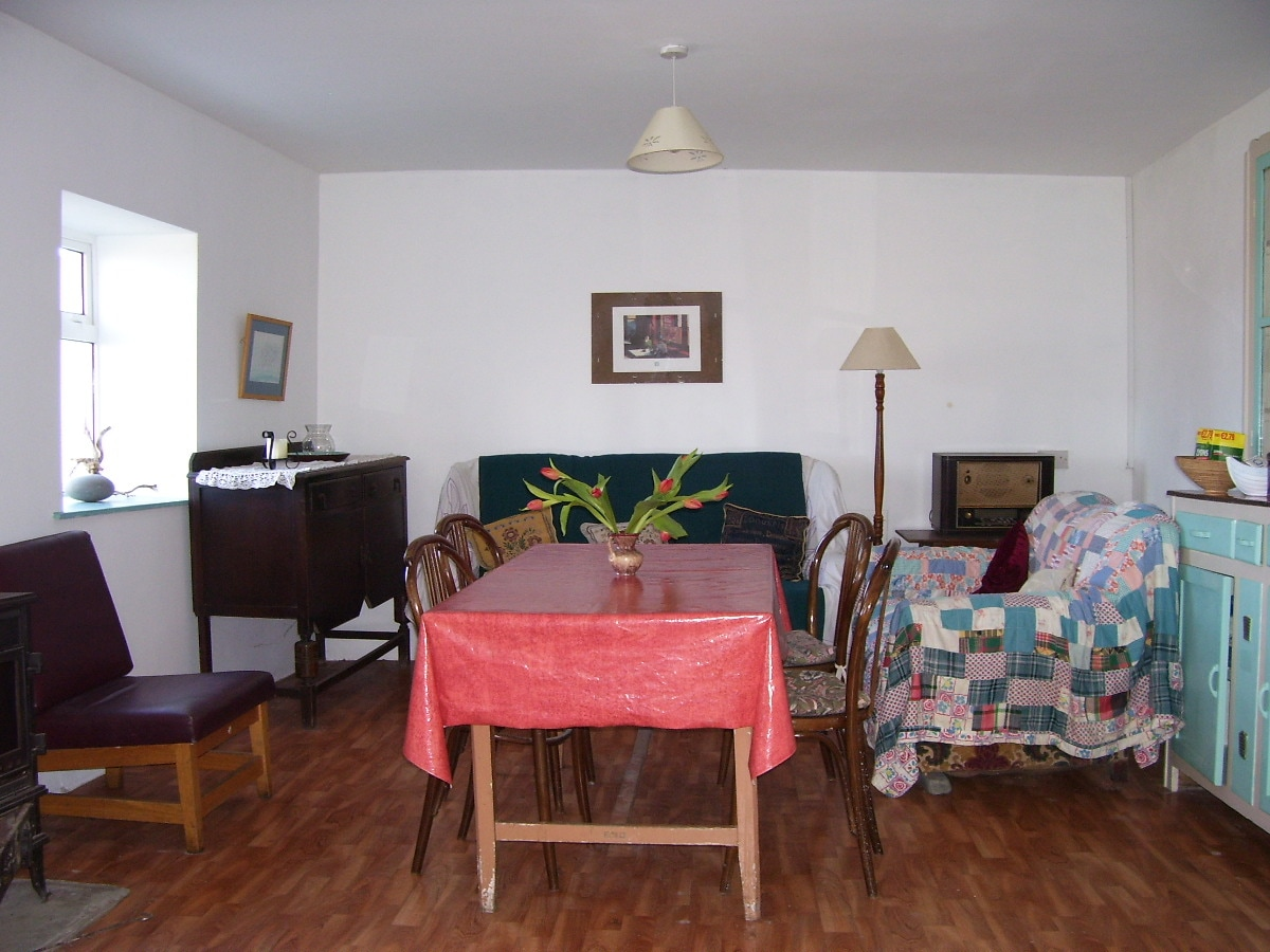 Our spacious living/dining room