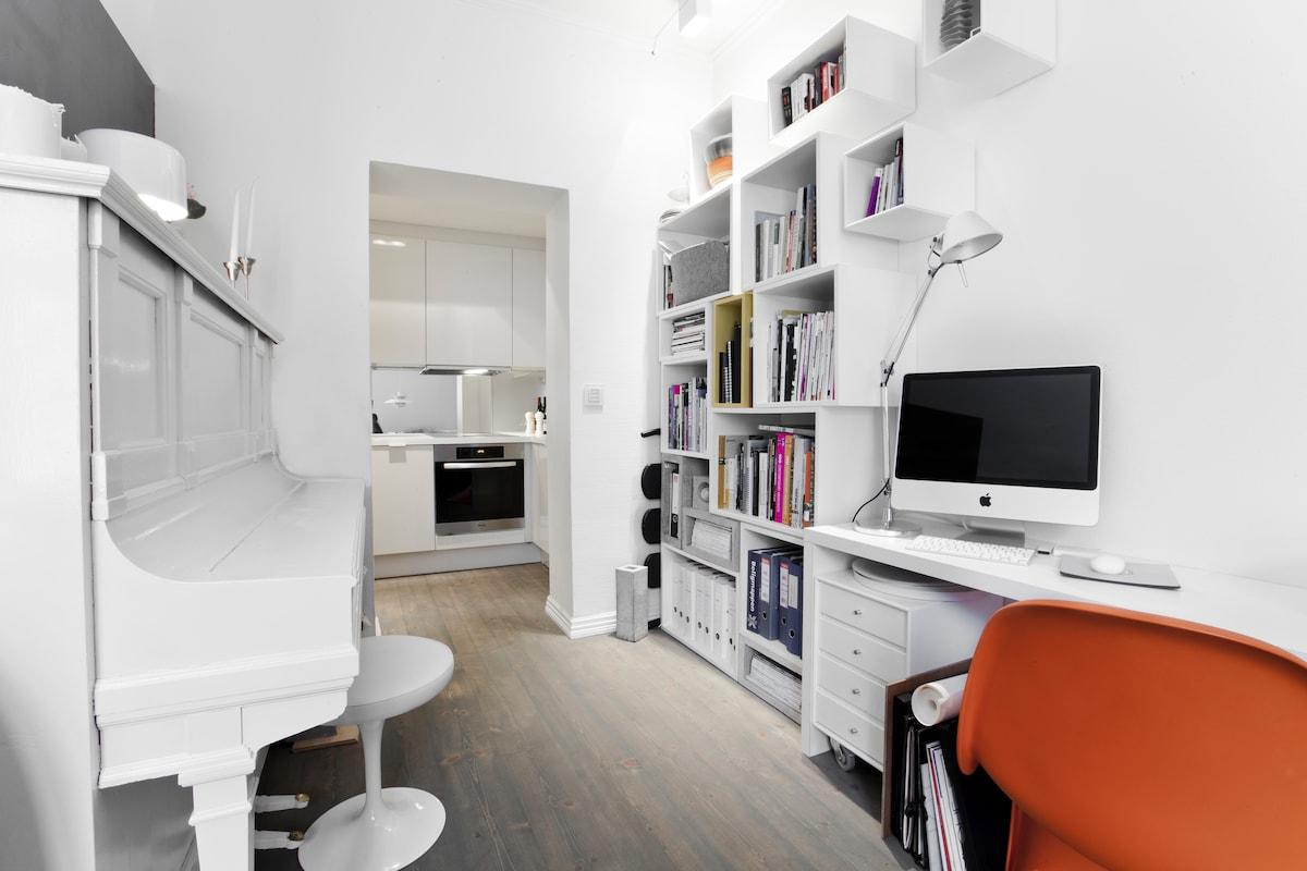Central design apartment