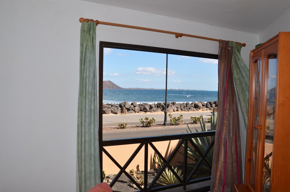 Seaview from inside the Lounge