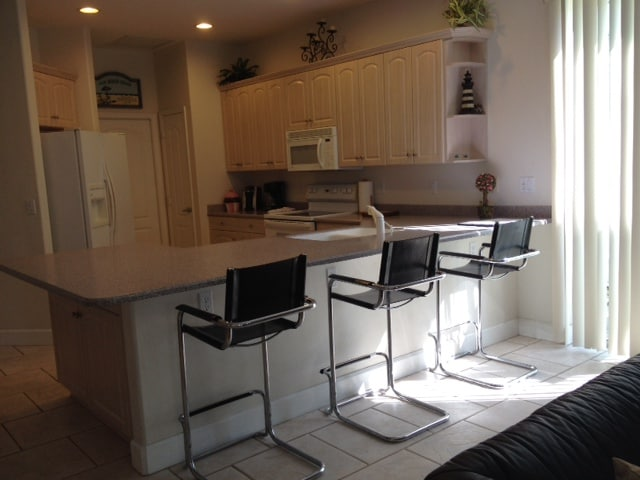 Large fully equipped social kitchen