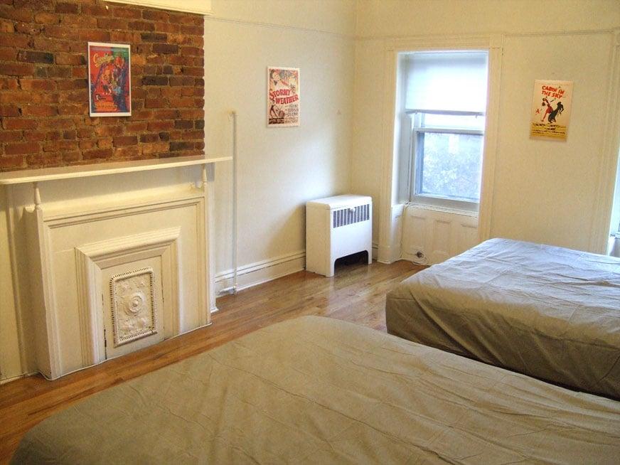 The Master Bedroom has (2) queen-size beds, each sleeps 2...