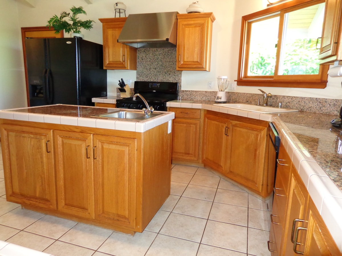 Beautiful well appointed kitchen with everything you will need.