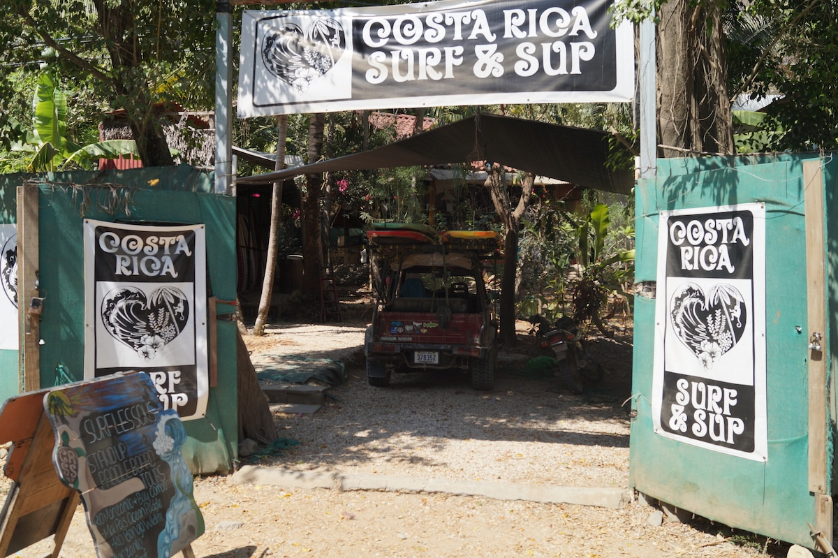 Costa Rica Surf  & SUP Lodging