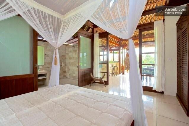 Bali Harmony Villas - Ubud - Beautiful open living in Villa Sungai