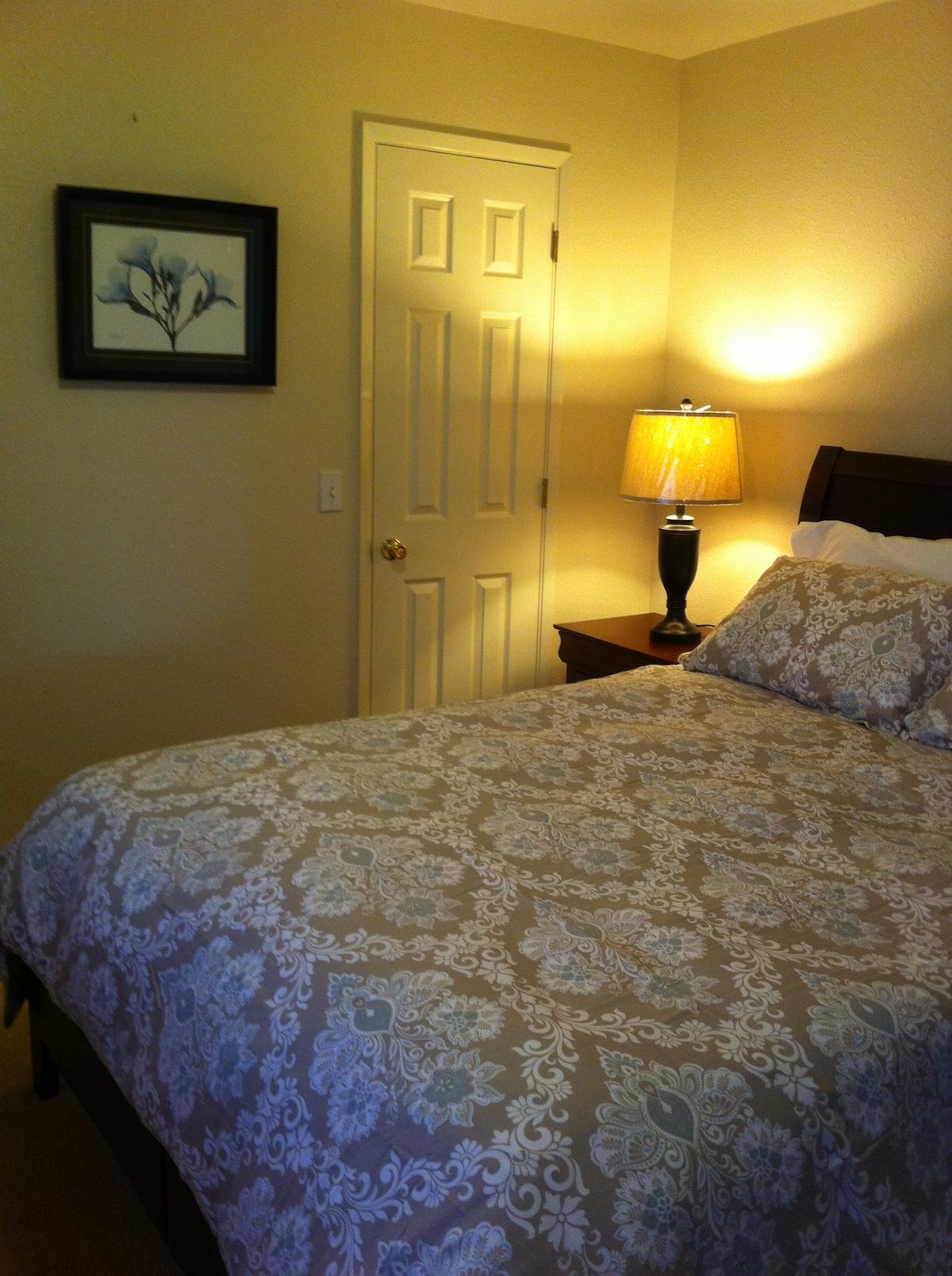 2 Bedrooms w/ 1 Bath