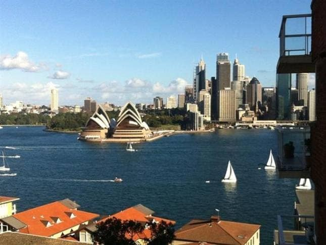 Kirribilli water views