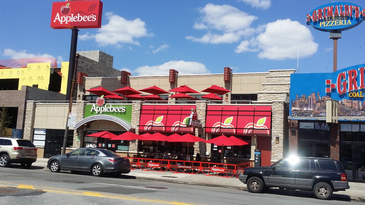 Try the new Coney Island Apple Bee's
