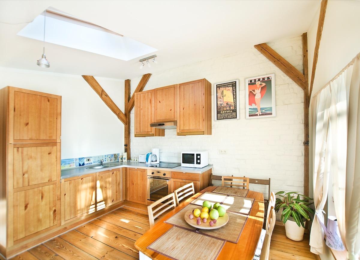 Three-room apartment in Sopot