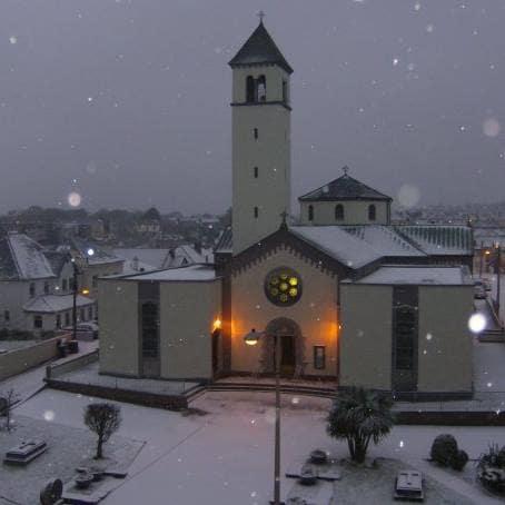 a rare snowy Salthill!!!