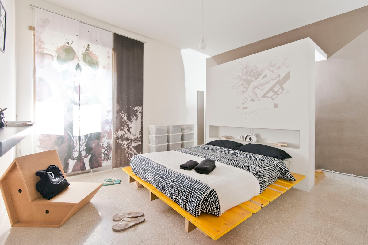 Beautiful room with doublebed 1