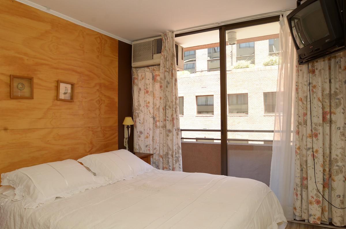 Furnished apartment near Metro
