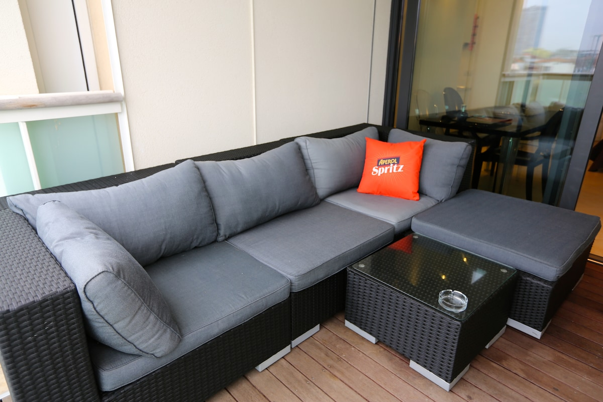 Luxury Sea Front Studio