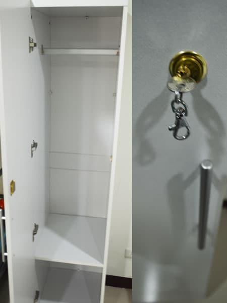 個人含鎖置物櫃