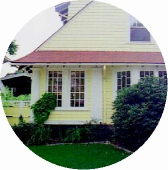 Home Sweet Home, an early 20th century shingle style house with beautiful gardens on a quiet dead end street.