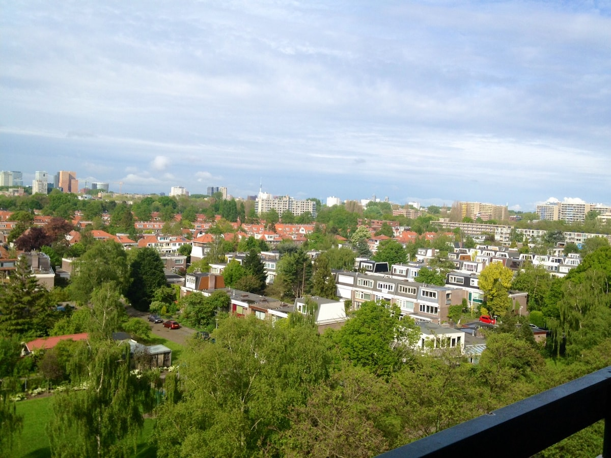View facing Amsterdam