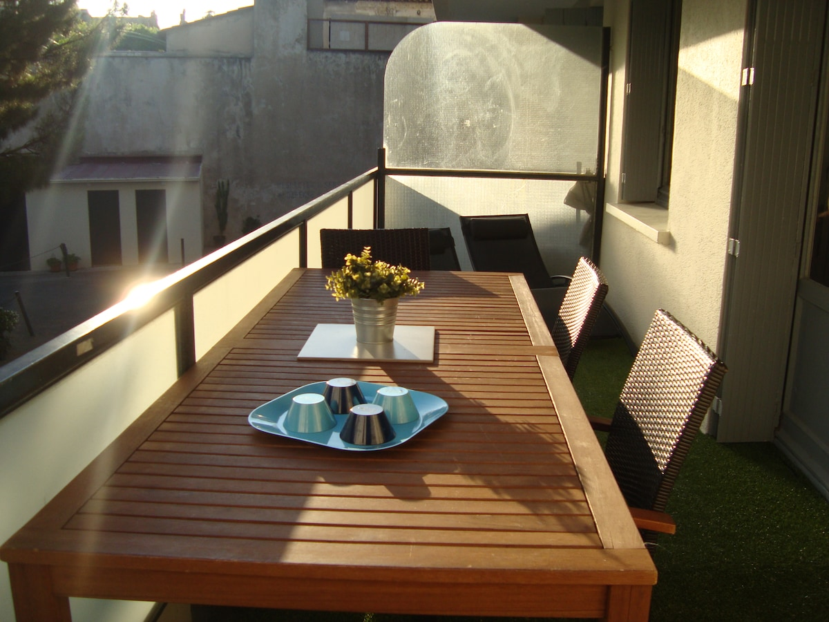 EQUIPED TERRACE (18M2)