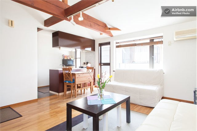 Near Shibuya: Bright Modern Room