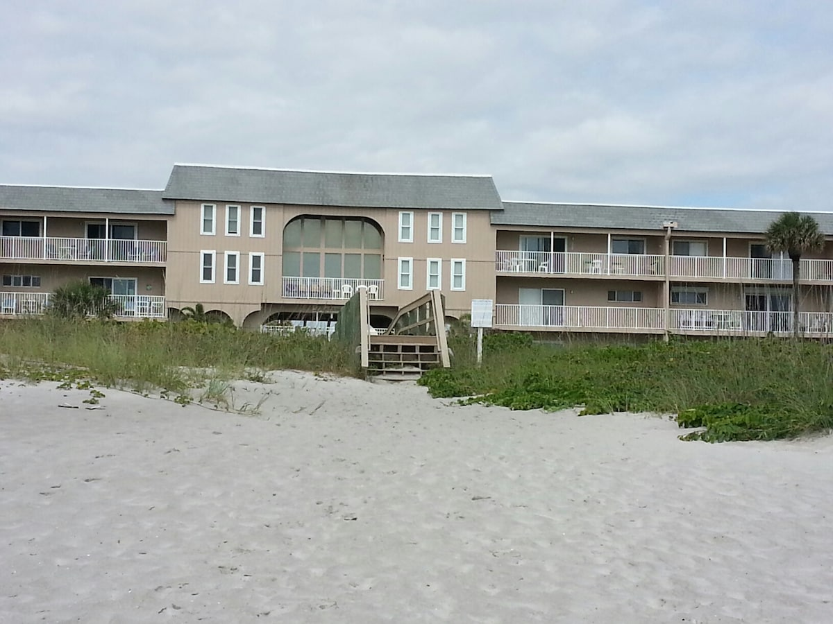 Beach view from Complex