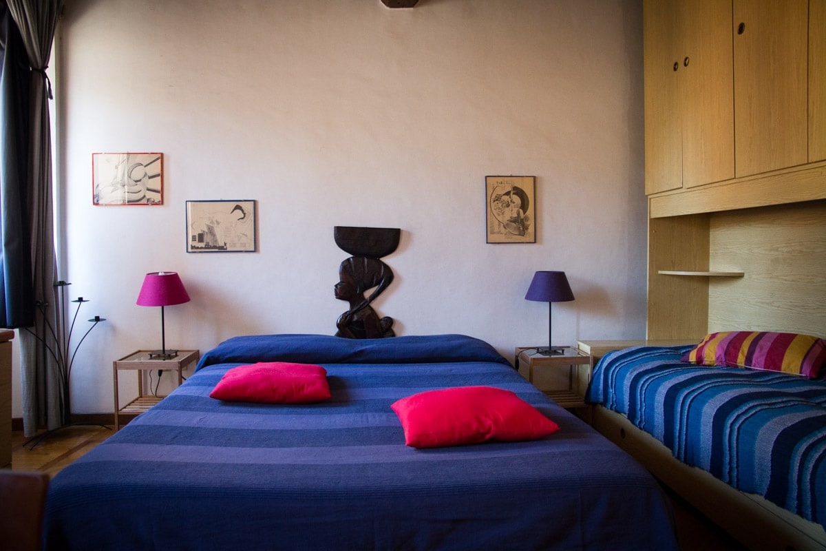 B&B. Large room in magic Trastevere