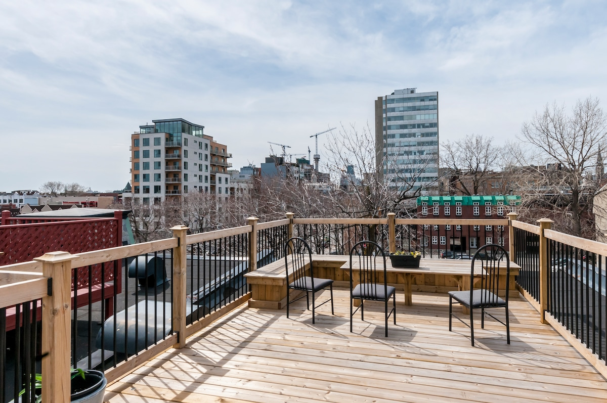 *WOW Condo rooftop  terrace***