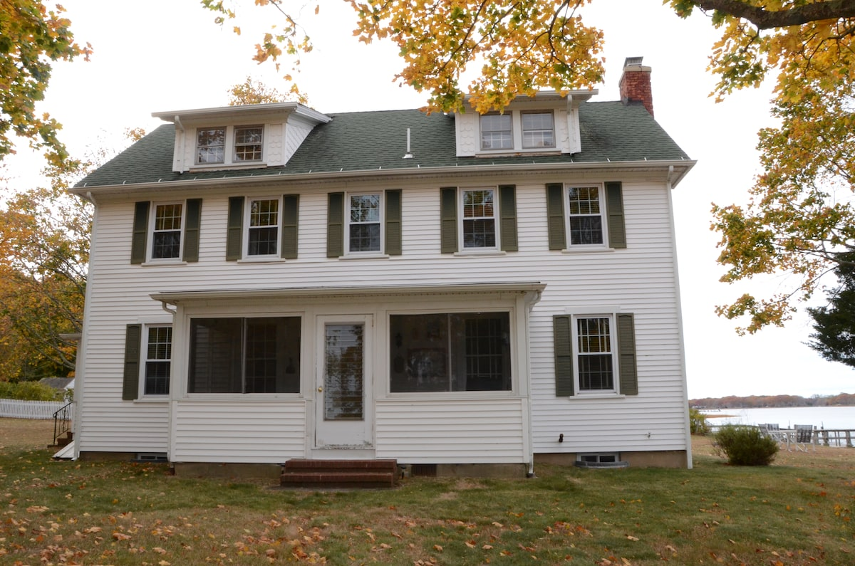 5 Bedroom waterfront colonial