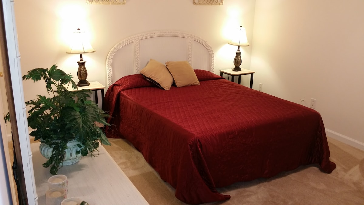 Master Bedroom with Queen Size Bed