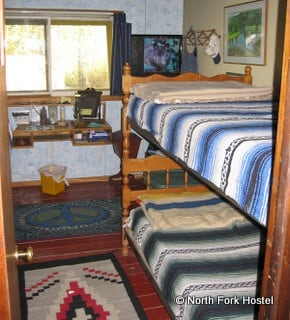 North Fork Hostel Dormitory Style