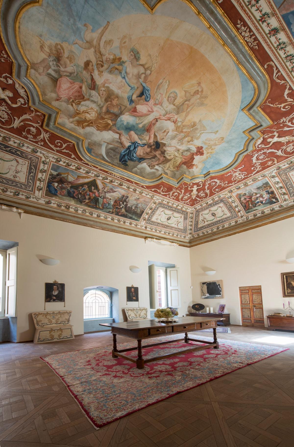 La poesia degli affreschi