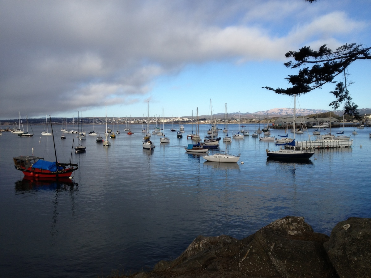 Monterey Bay views & great location