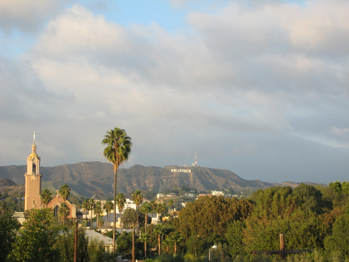 Stay walking distance to everything with one of the best views in Hollywood!