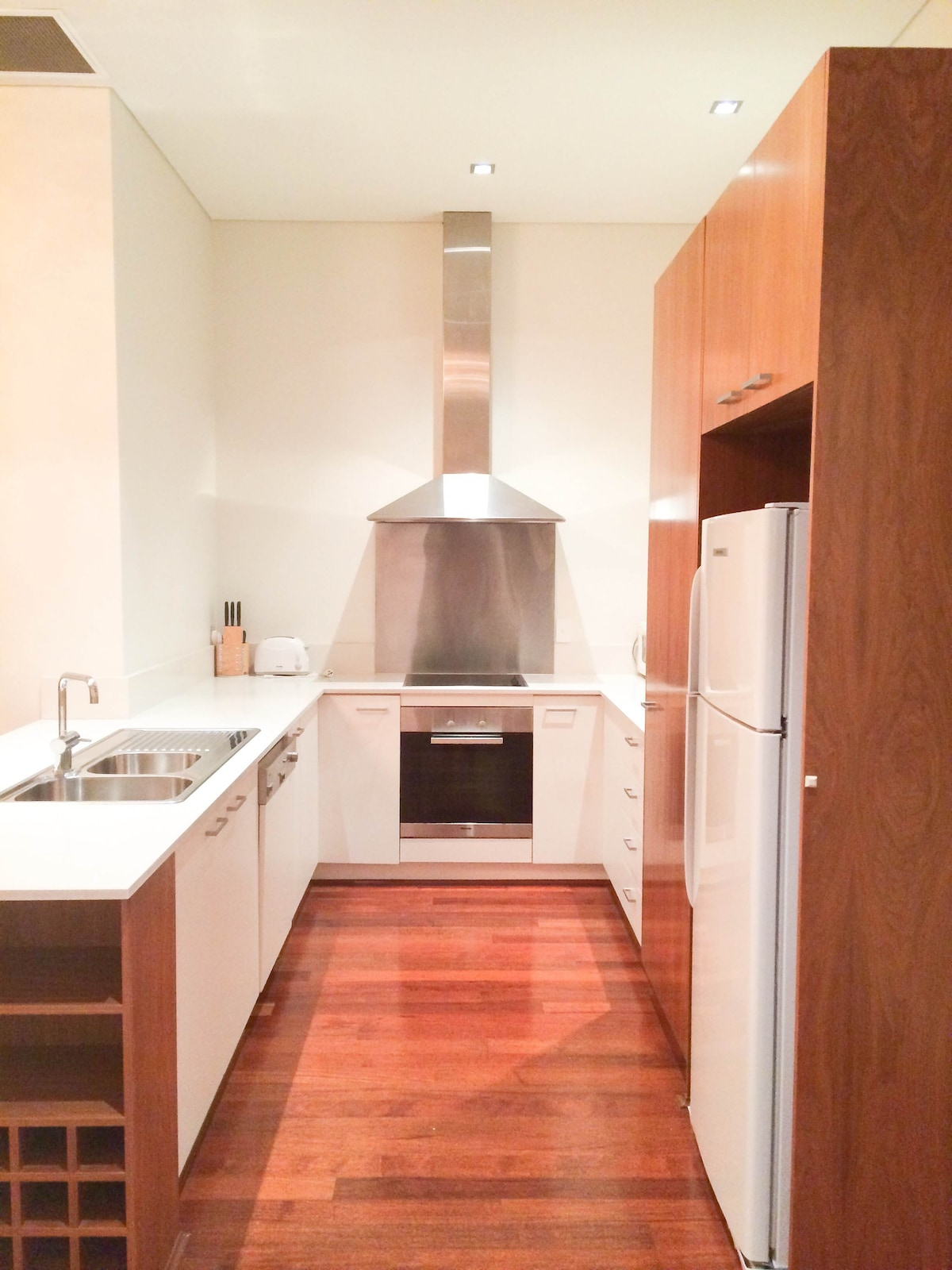 Well appointed kitchen with Miele Appliances and fully equipped, just like being at home.