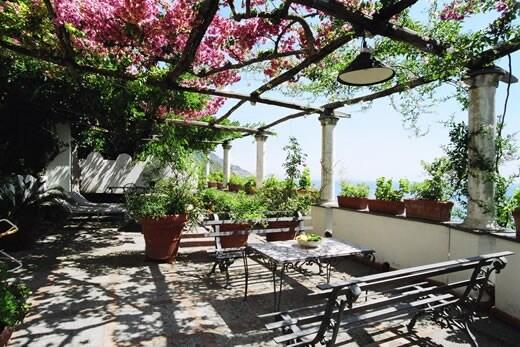 Historical villa in Positano