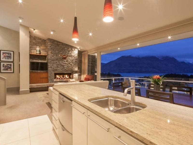 Kitchen with views!