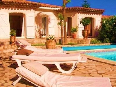 Villa de campagne, piscine et mer
