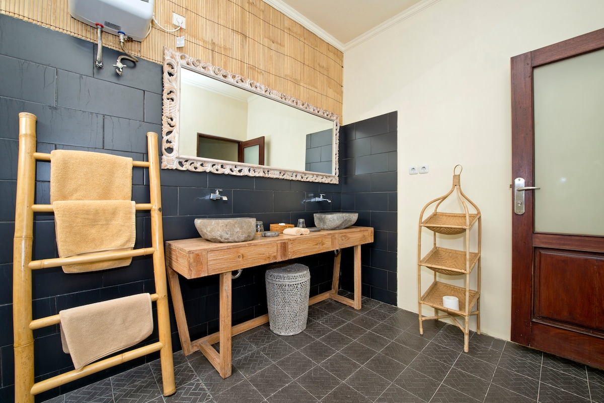 Your private bathroom and toilets