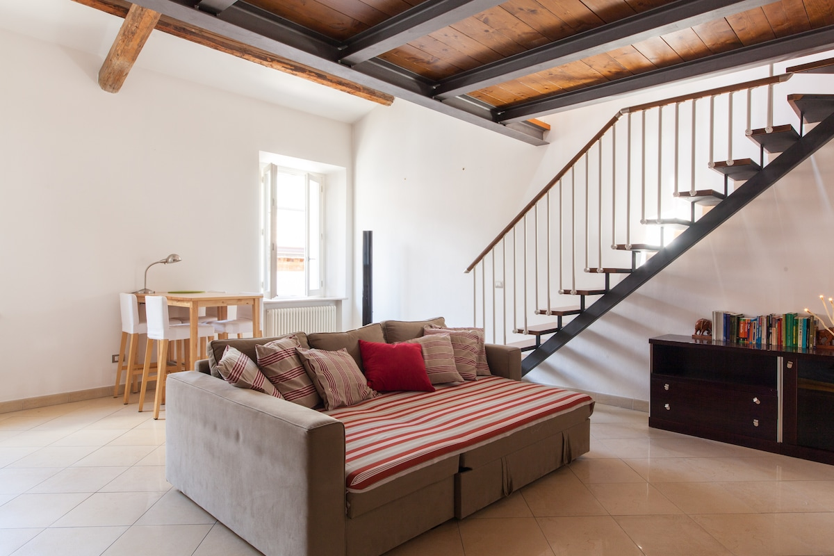 Cozy Loft in Rimini downtown