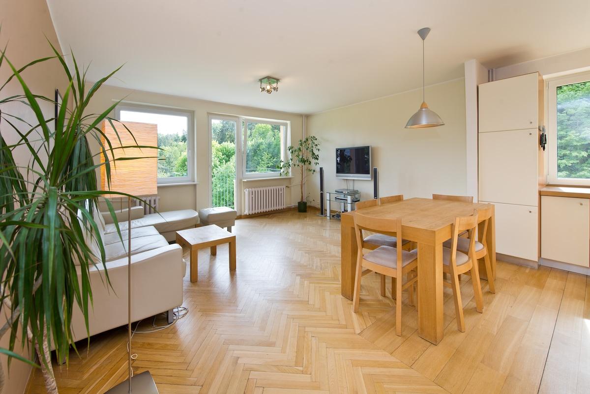 Quiet bright & cosy Sopot Apartment
