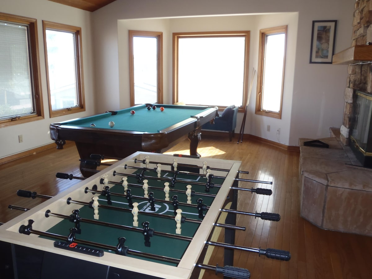 Game time - pool and foosball