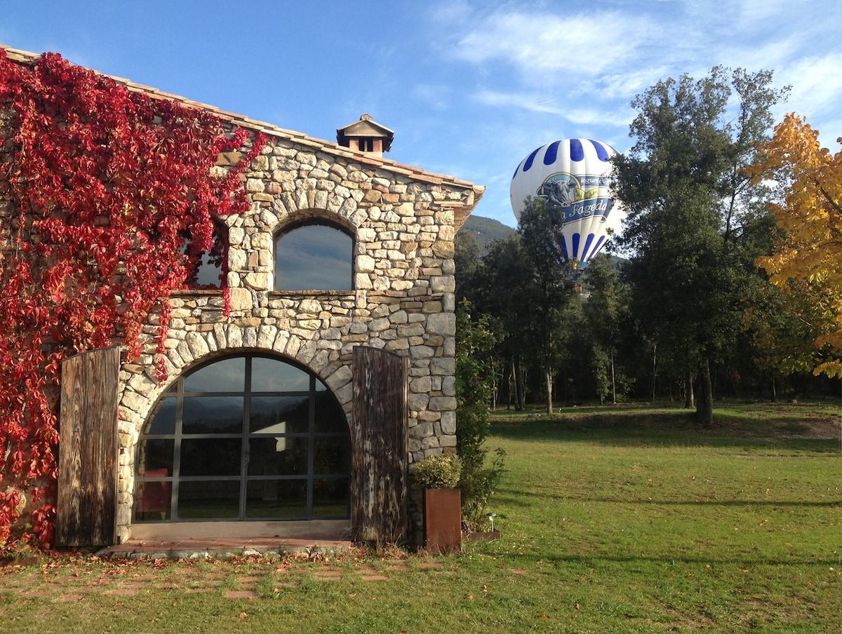 Casa rural acogedora y moderna