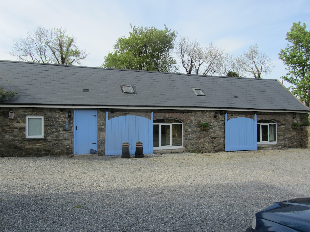 Barn conversion in rural location.