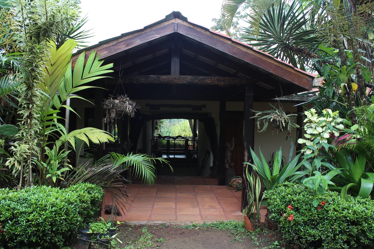 Entrance to the Lodge.