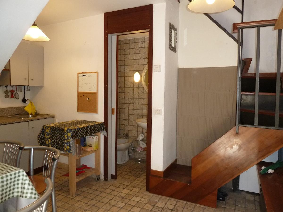 ingresso cucina bagno
