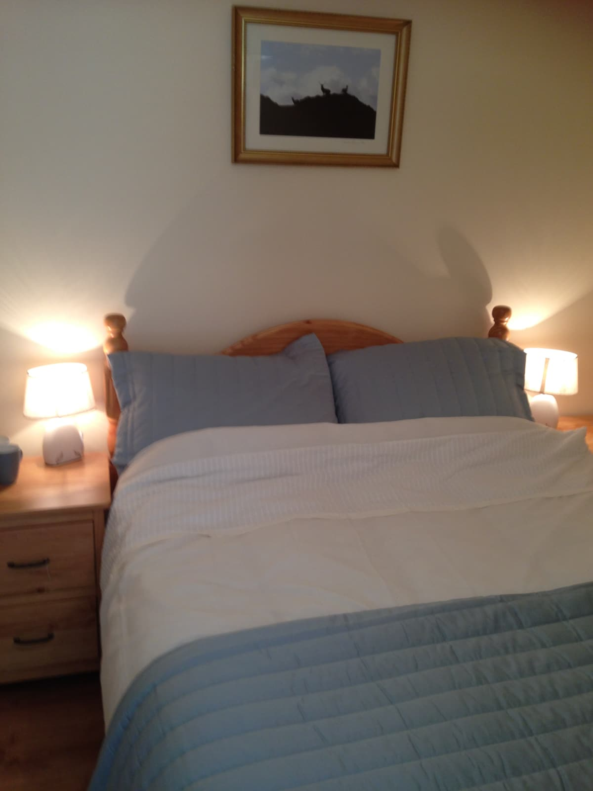 Cosy, private double en-suite room