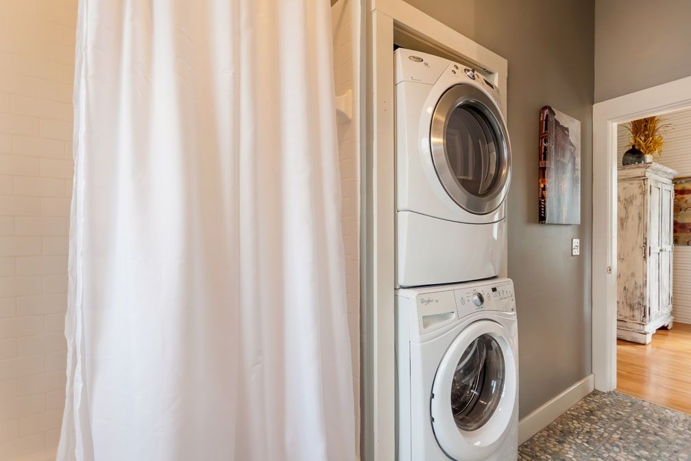 Brand New Stackable Washer/Dryer Set