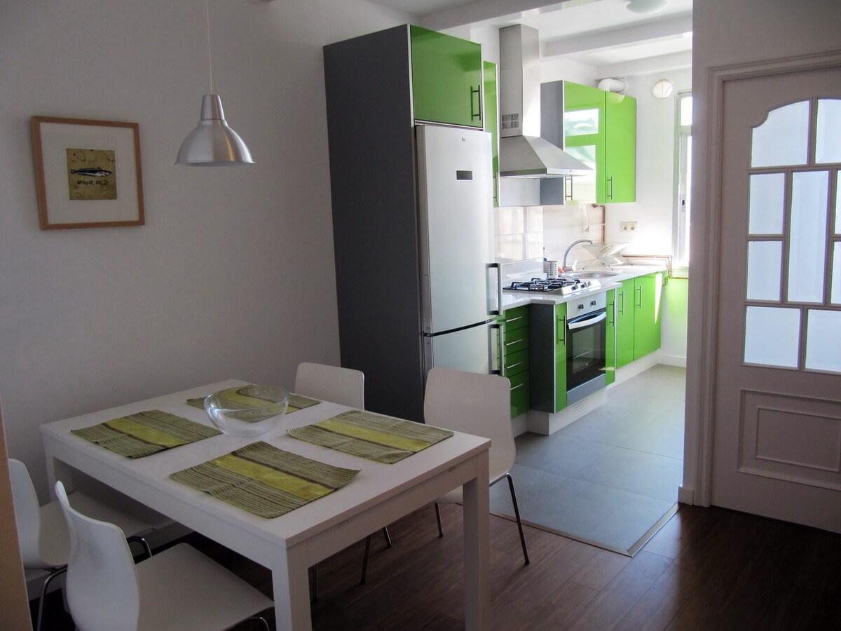 Quiet apartment close to the beach