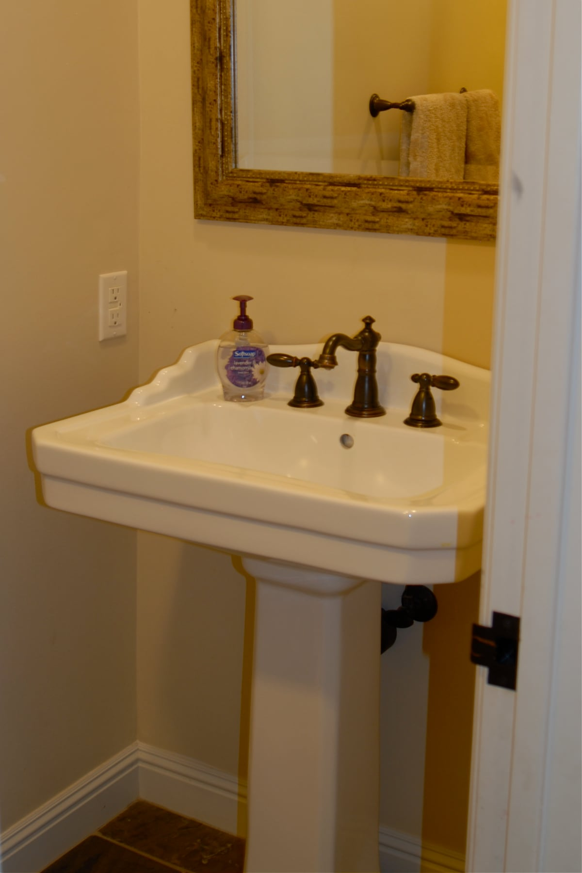 Guest 1/2 bathroom on main level