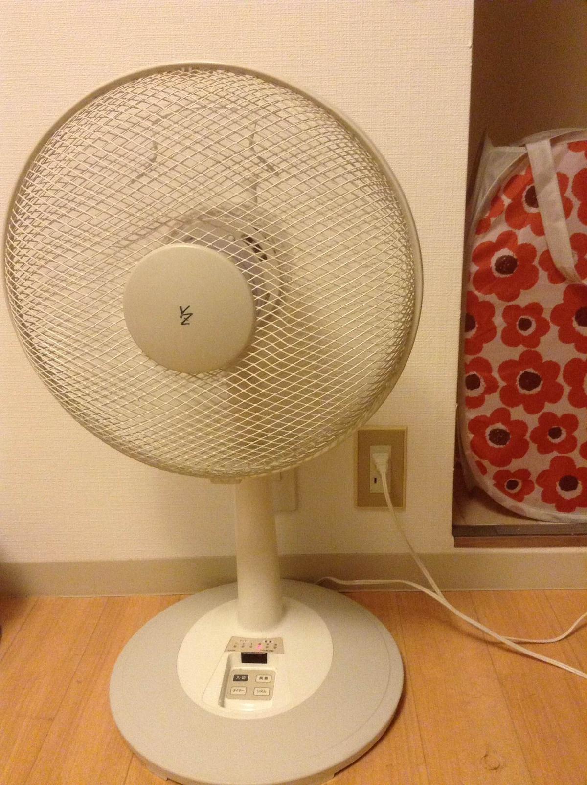 Electric fan for summer!