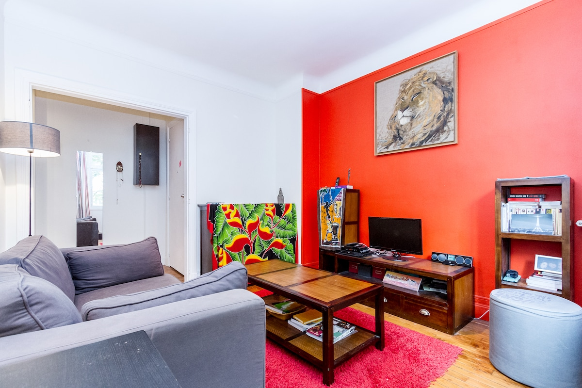 2 rooms beautiful flat in the XVIe