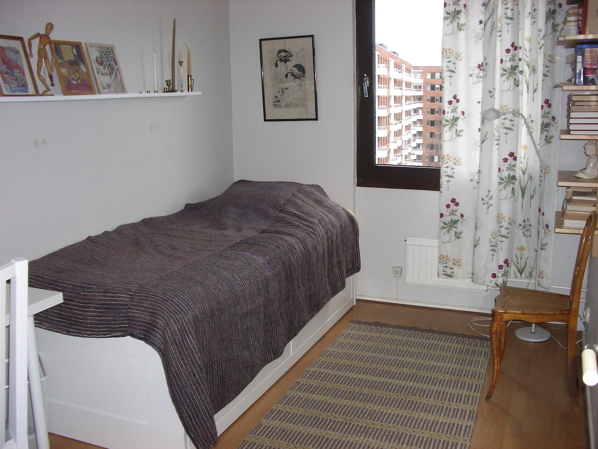 Room availible with a bike