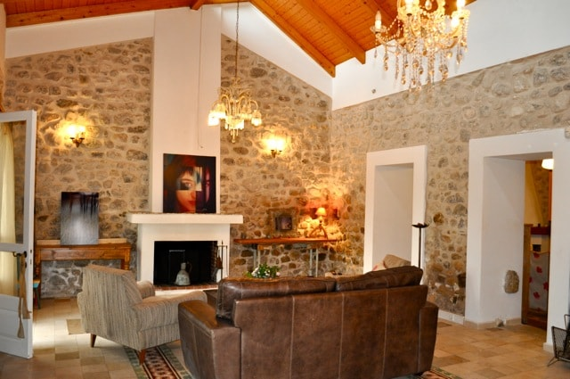"Villa""Rio Paradiso"" in an olivery !"